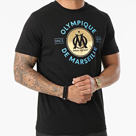 OM - Tee Shirt M20068 Noir Doré
