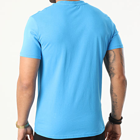OM - Ensemble Short Tee Shirt M20047C Bleu Noir