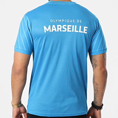 OM - Tee Shirt M20077C Bleu