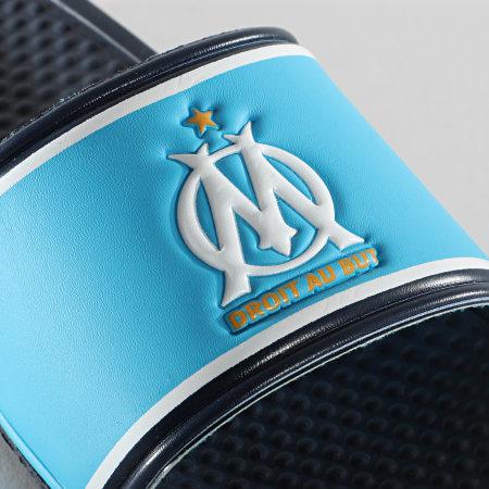 OM - Claquettes Fan M20084 Bleu Marine