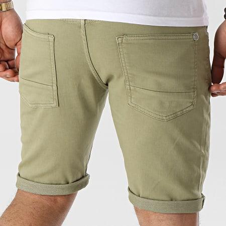 Pepe Jeans - Short Jogg Jean Jagger Vert Kaki