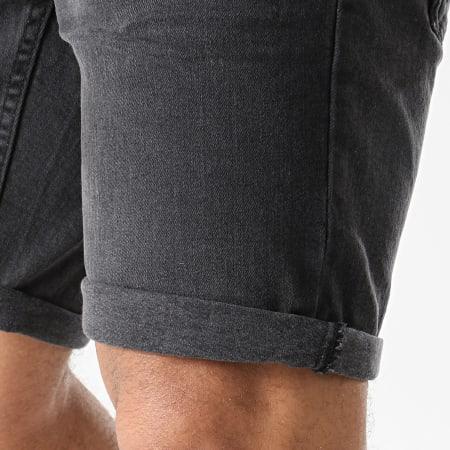 Solid - Short Jean Ryder 21104984 Noir
