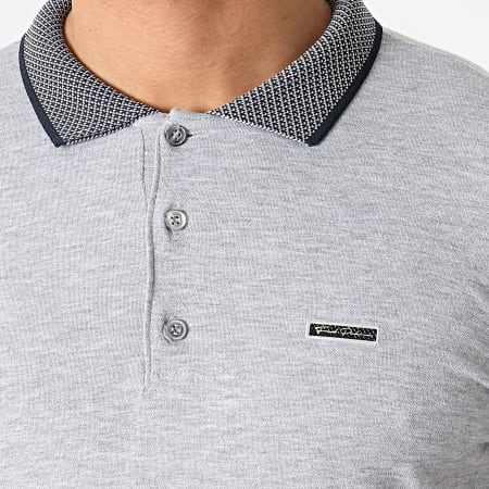 Classic Series - Polo Manches Courtes TS33-102 Gris Chiné