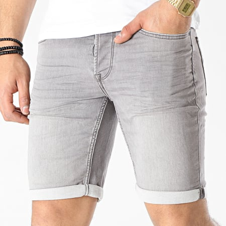 Only And Sons - Short Jean Ply Life Gris