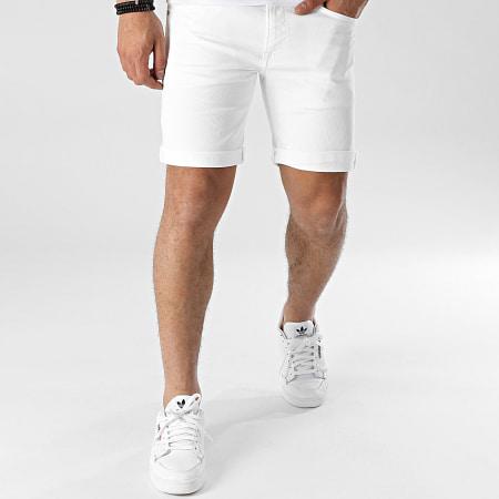 Pepe Jeans - Short Jean Slim Cane PM800543TA8 Ecru