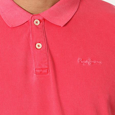 Pepe Jeans - Polo Manches Courtes Vincent PM541225 Rouge