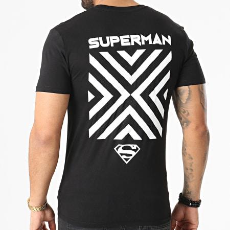 Superman - Tee Shirt Cross Noir