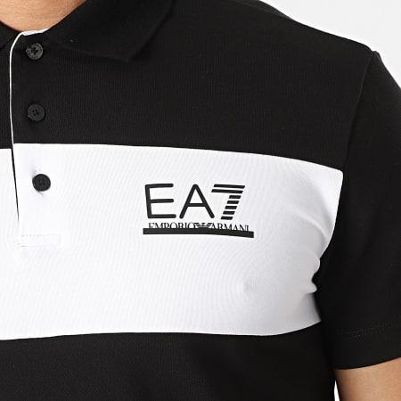EA7 Emporio Armani - Polo Manches Courtes 3KPF08-PJ04Z Noir