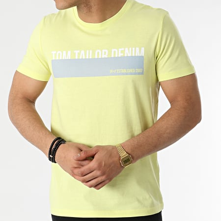Tom Tailor - Tee Shirt 1016303-XX-12 Jaune