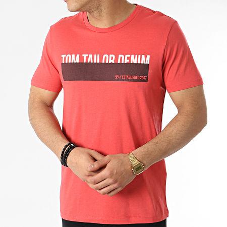 Tom Tailor - Tee Shirt 1016303-XX-12 Rouge