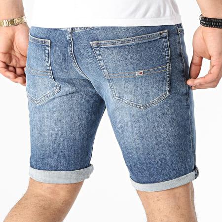 Tommy Jeans Short Jean Slim Scanton 0558 Bleu Denim
