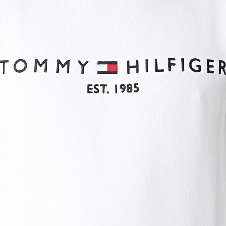 Tommy Hilfiger - Sweat Crewneck Tommy Logo 1596 Ecru