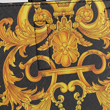 Versace Jeans Couture - Ensemble Sac A Main Et Pochette Femme Linea Z E1VWABZ1 Noir Renaissance