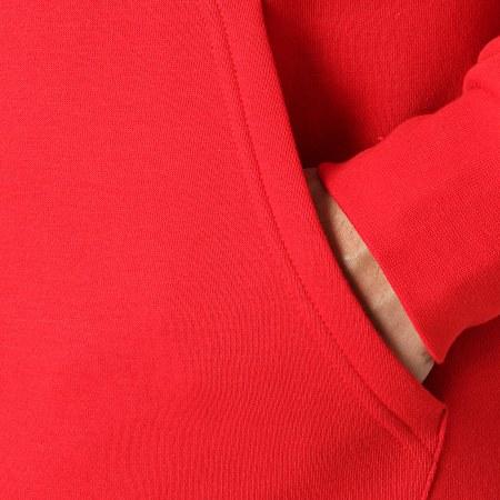 adidas - Sweat Capuche 3D Trefoil Graphic GN3554 Rouge