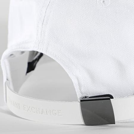 Armani Exchange - Casquette 954202-1P115 Blanc