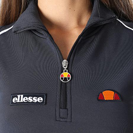 Ellesse - Robe Sweat Sans Manches Femme Track SGI11071 Bleu Marine
