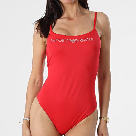 Emporio Armani - Maillot De Bain Femme 262620-1P313 Rouge