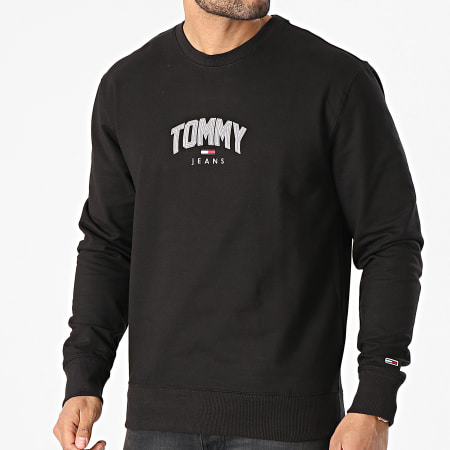 Tommy Jeans - Sweat Crewneck Lightweight Tommy 0627 Noir