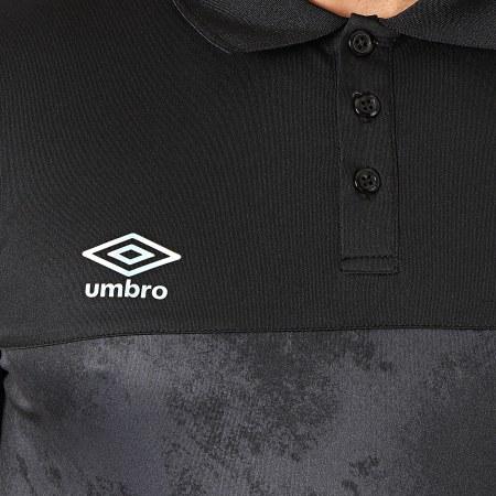 Umbro - Polo Manches Courtes 848040-60 Noir