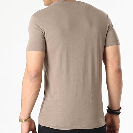Calvin Klein Jeans - Tee Shirt Institutional Chest 5245 Marron