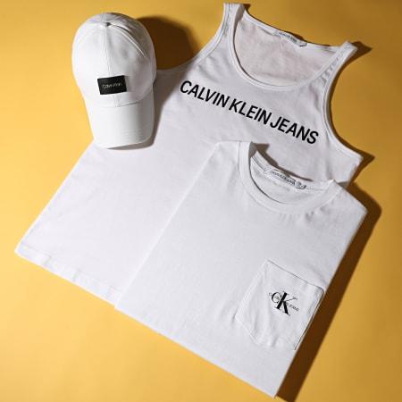 Calvin Klein Jeans - Débardeur Institutional Logo 5249 Blanc