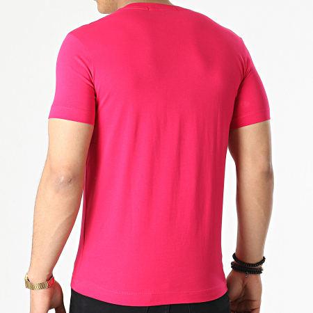 Calvin Klein Jeans - Tee Shirt Micro Branding 8067 Fushia