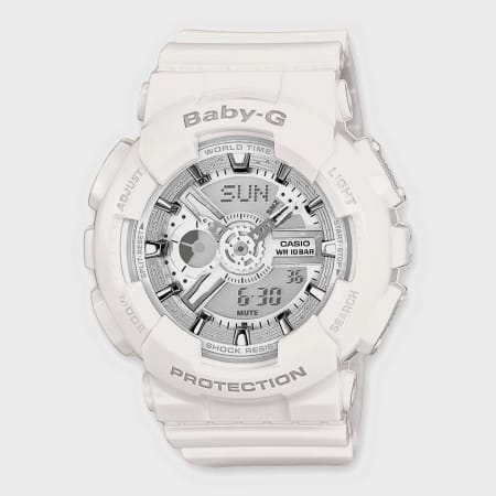 Casio - Montre Femme Baby-G BA-110-7A3ER Blanc