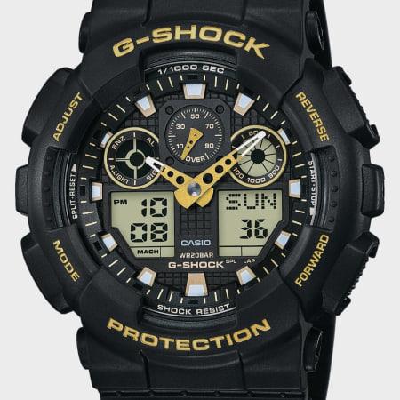 Casio - Montre G-Shock GA-100GBX-1A9ER Noir