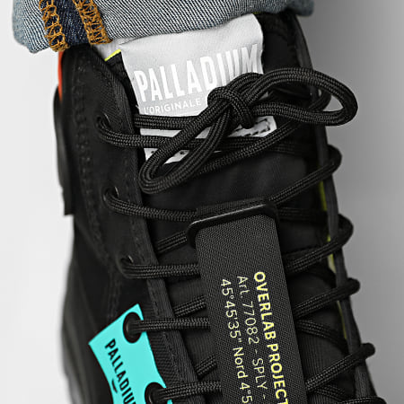 Palladium - Boots Pampa Lite Overlab Neon 77082 Black Black