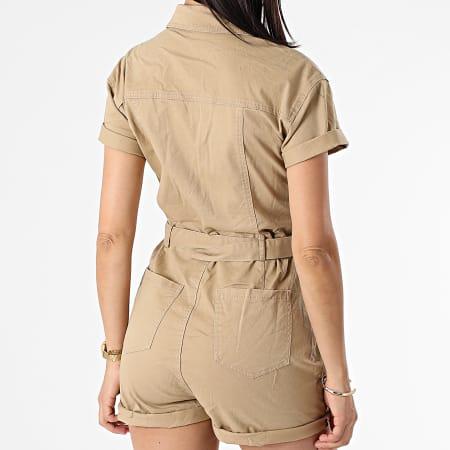 Girls Only - Combinaison Short Femme K20209 Beige