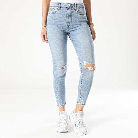 Tommy Jeans - Jean Skinny Femme Sylvia 9870 Bleu Denim