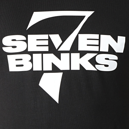 7 Binks - Tee Shirt Logo 2021 Noir Blanc