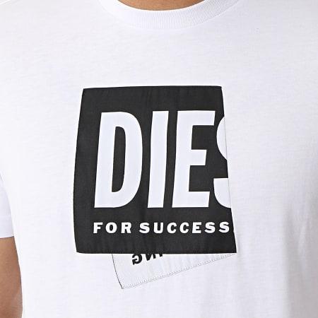 Diesel - Tee Shirt Diegos A02378-0HAYU Blanc