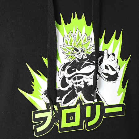 Dragon Ball Super - Sweat Capuche ABYSWE064 Noir