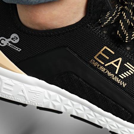 EA7 - Baskets X8X054-XK044 Black Gold