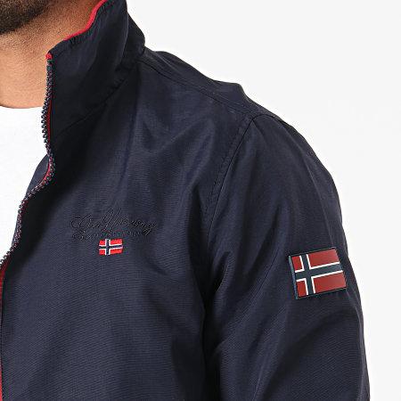 Geographical Norway - Veste Zippée Benilde Bleu Marine