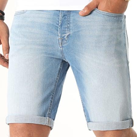 Jack And Jones - Short Jean Rick Original 002 Bleu Denim