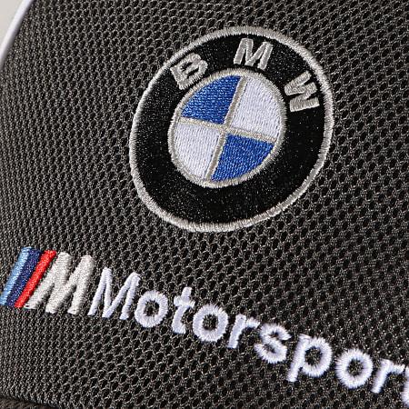 Puma - Casquette BMW M Motorsport BB Cap 023089 Noir Gris