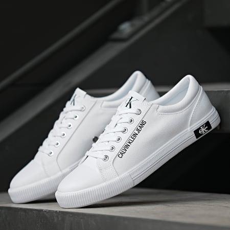 Calvin Klein - Baskets Vulcanized Sneaker Lace Up 00014 Bright White