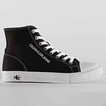 Calvin Klein Jeans - Baskets Montantes Femme Vulcanized Sneaker High Laceup 0049 Black