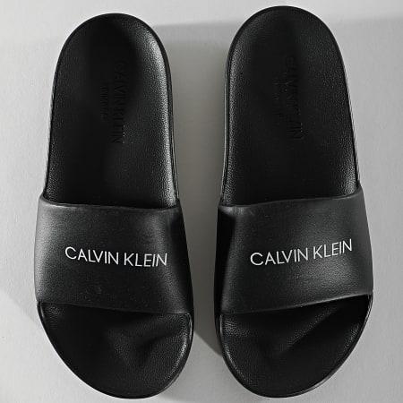 Calvin Klein - Claquettes Femme One Mold 0075 Noir