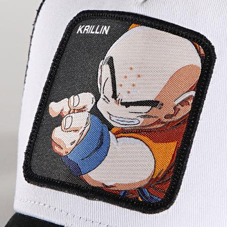 Dragon Ball Z - Casquette Trucker Krillin Noir Blanc