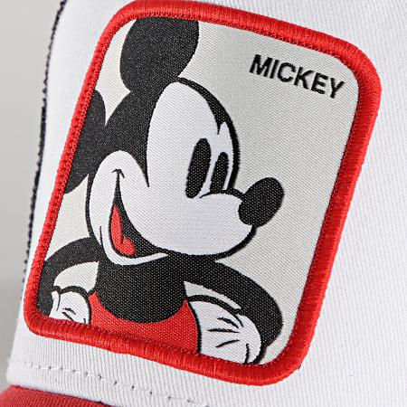Disney - Casquette Trucker Mickey Rouge Blanc Noir