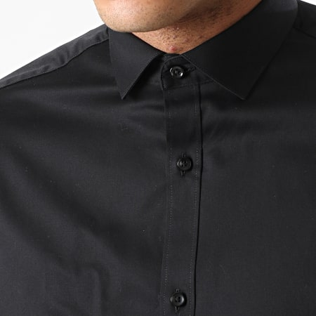 Jack And Jones - Lot De 2 Chemises Manches Longues Blaparma Noir