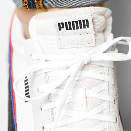 Puma - Baskets Future Rider Double 380639 Puma White Nimbus Cloud