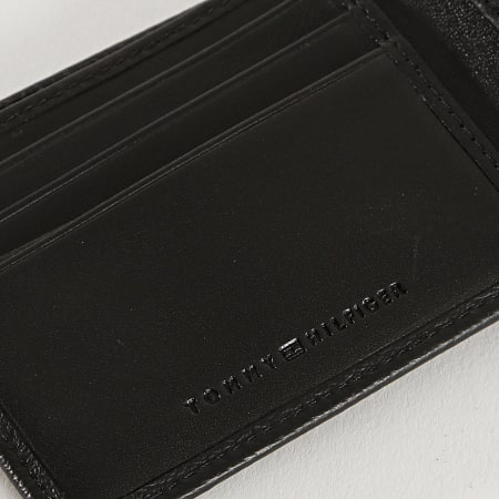 Tommy Hilfiger - Porte-cartes Monogram Mini 7285 Noir