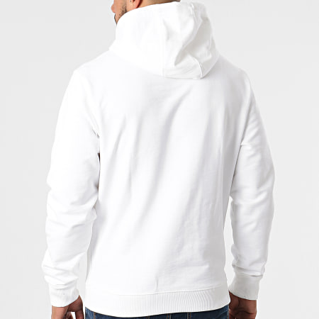 Tommy Jeans - Sweat Capuche Tommy Gel Flag 0336 Blanc