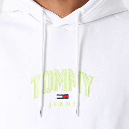 Tommy Jeans - Sweat Capuche Lightweight Tommy 0628 Blanc
