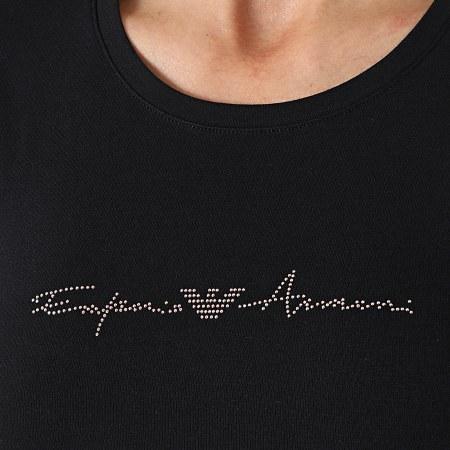 Emporio Armani - Tee Shirt Femme 163139 Noir
