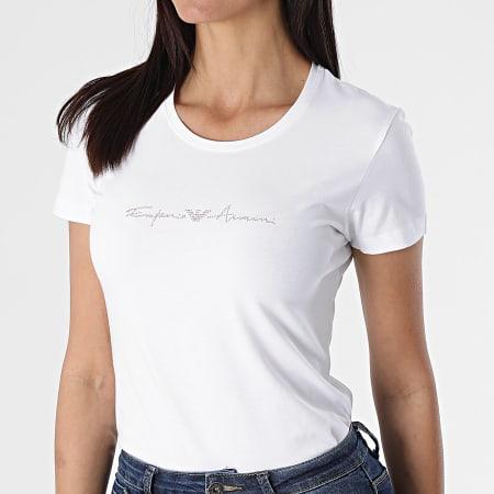 Emporio Armani - Tee Shirt Femme 163139 Blanc
